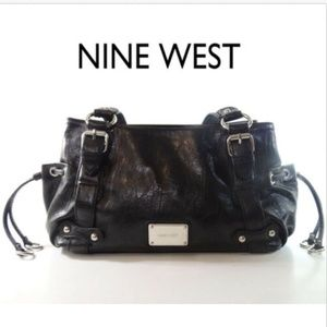 Nine West Women's Black Shoulder Bag Handbag Purse
